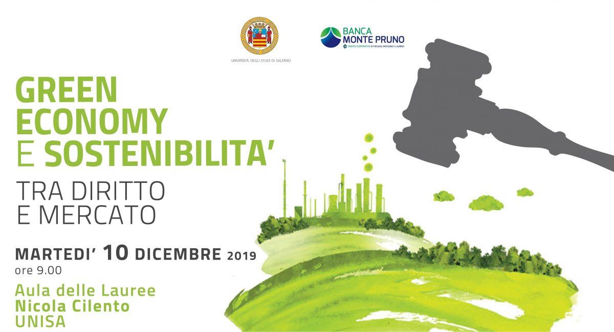 Green Economy e sostenibilità tra diritto e mercato | Convegno del 10/12/2019